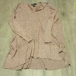 Pink and grey long sleeve